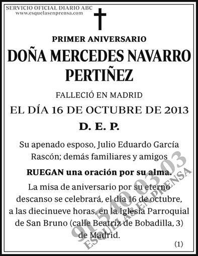 Mercedes Navarro Pertiñez